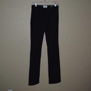 $220 Sz 27 Frame Denim Black Forever Karlie Jeans